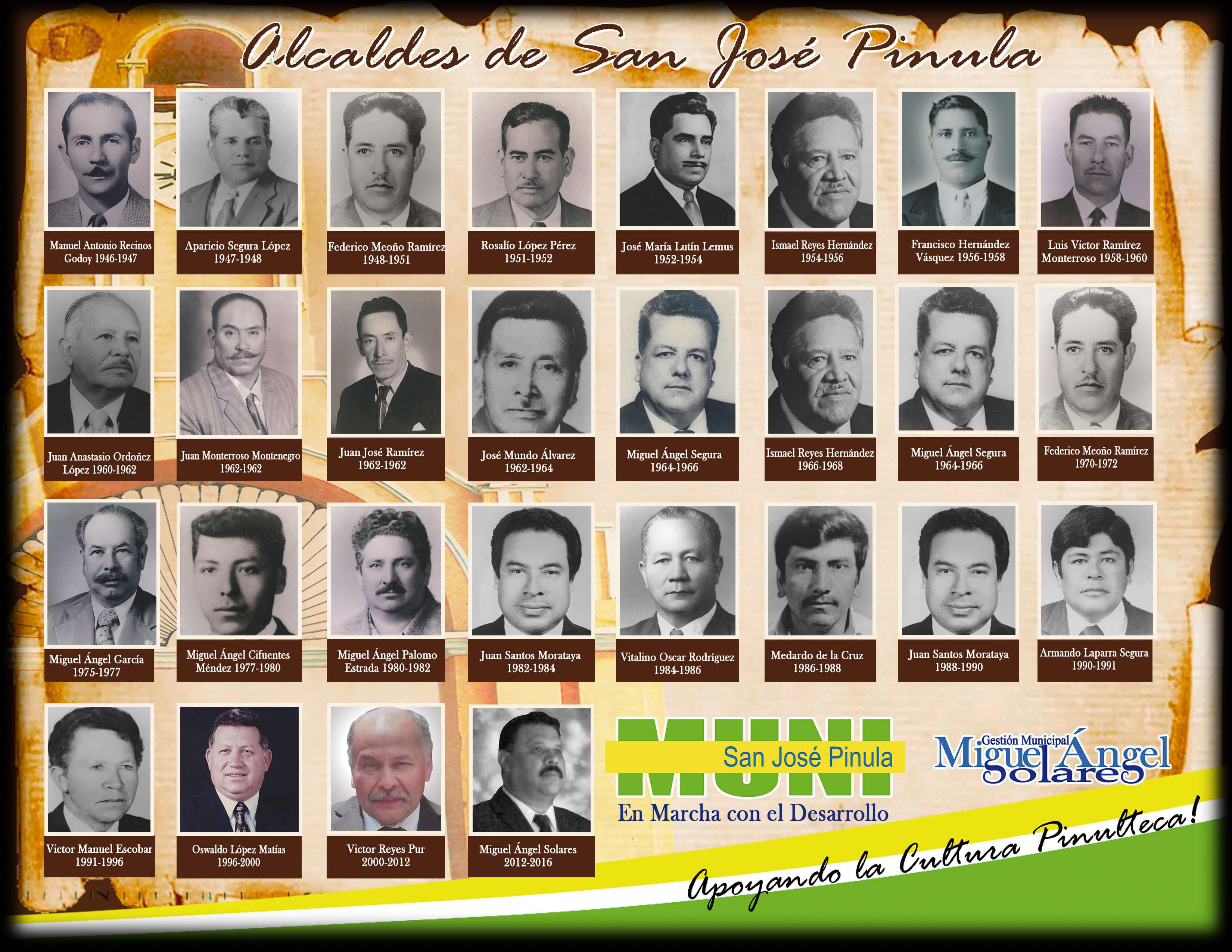 alcaldes pergamino