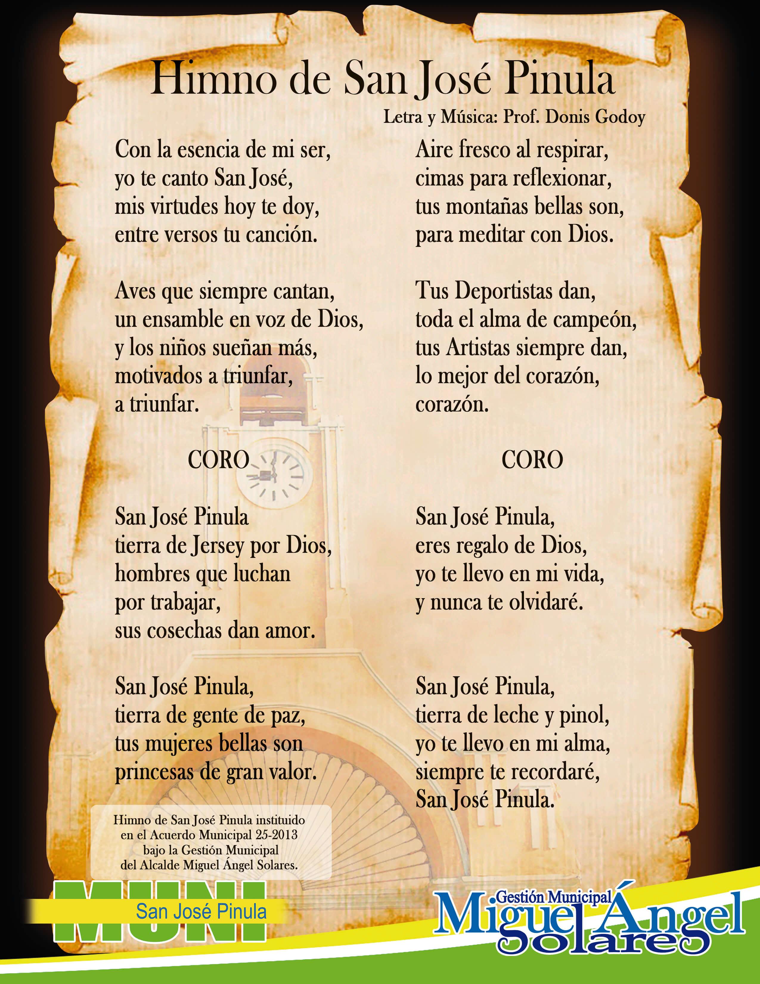 himno SJP carta