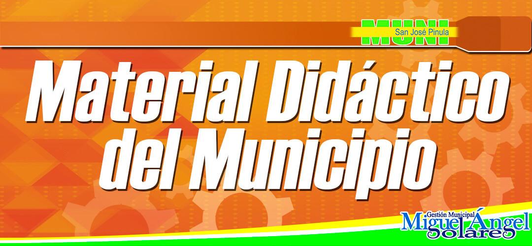 Material didáctico San José Pinula