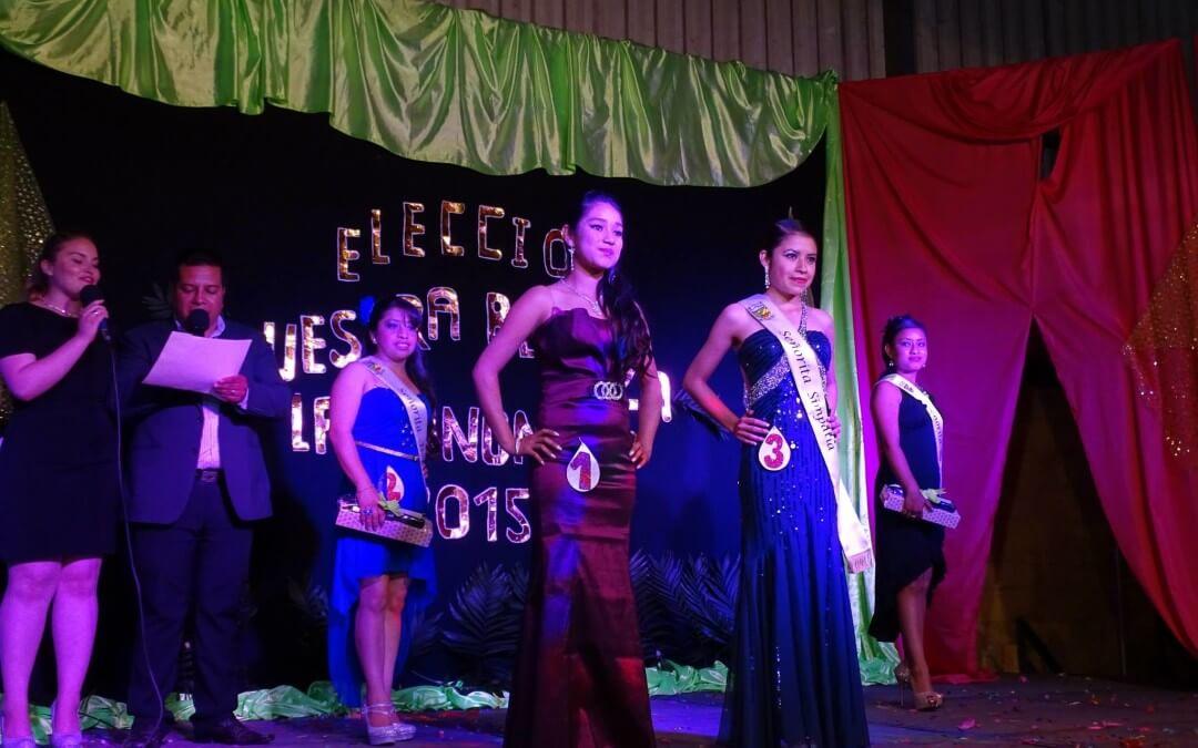 Elección Nuestra Belleza Las Anonas 2015