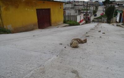 Pavimentación Colonia Santa Sofía