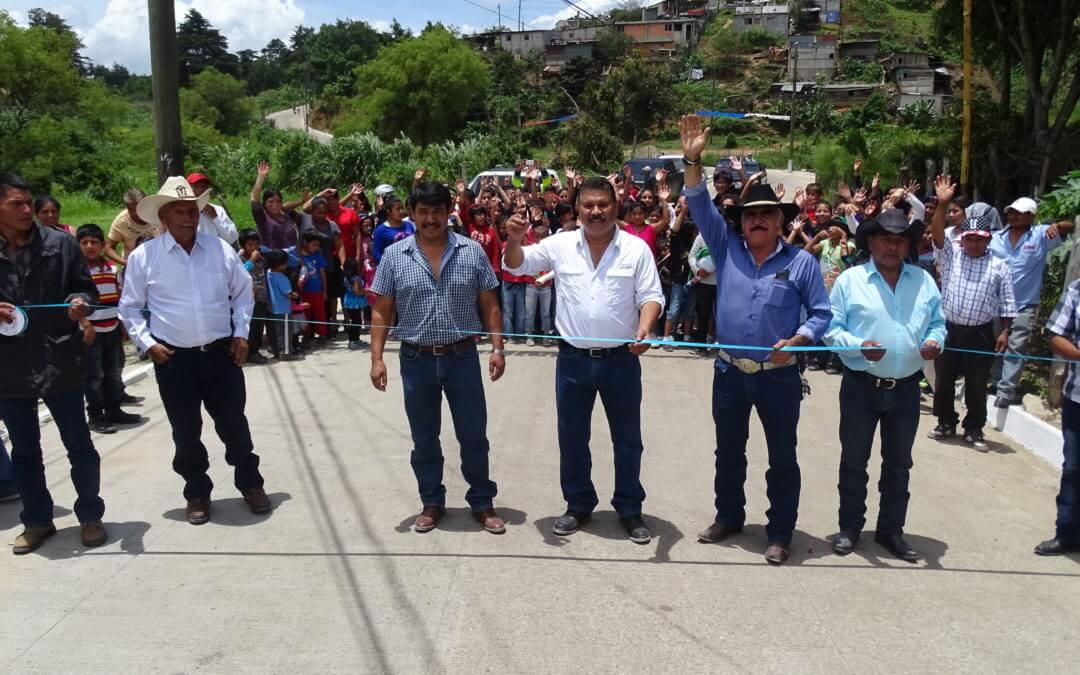 Inauguración Pavimentación aldea El Platanar