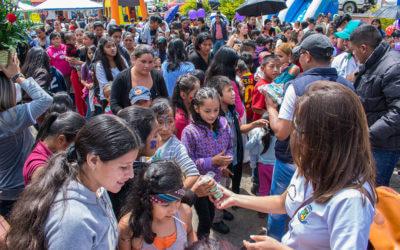 Celebración del Día del Niño Pinulteco Octubre 2017