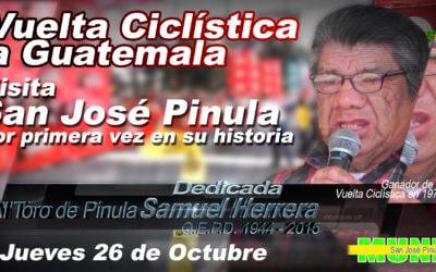 Vuelta a Guatemala, visita por primera vez en su historia a San José Pinula